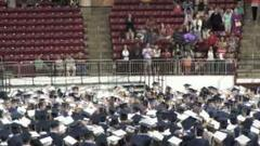 needham high's class of 2013 graduates