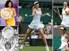 maria sharapova and other grand slam champions from past 40 years to be reunited at wimbledon